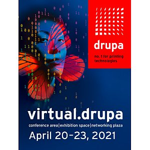 Virtual.drupa, 20-23 kwietnia 2021r. - Exhibition Space, Conference Area i Networking Plaza