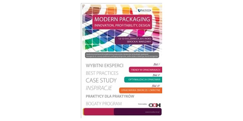 MODERN PACKAGING - INNOVATION, PROFITABILITY, DESIGN