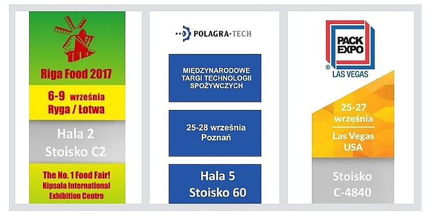 RADPAK na targach RIGA FOOD, POLAGRA TECH, PACK EXPO!