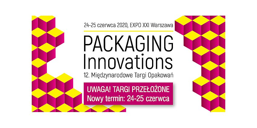 Zmiana terminu Targów Opakowań Packaging Innovations