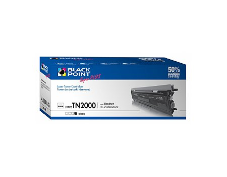 Toner BLACK POINT BROTHER TN-2000 czarny (5907625611527)
