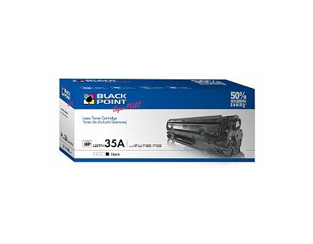 Toner BLACK POINT HP CB435A nr 35A czarny (5907625612623)